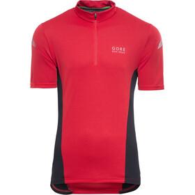 GORE BIKE WEAR Element Kortærmet cykeltrøje Herrer, red/black